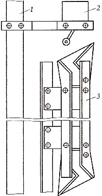 Размещение комбинированной отводки на кабине