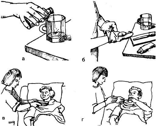 Как чистить зубы у лежачих больных